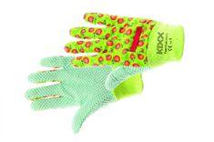 Kixx Dámské bavlnené pracovní rukavice Funky Fruit