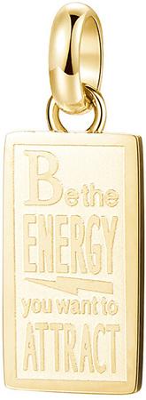 Brosway Aranyozott medál Energy Très Jolie BTJM286
