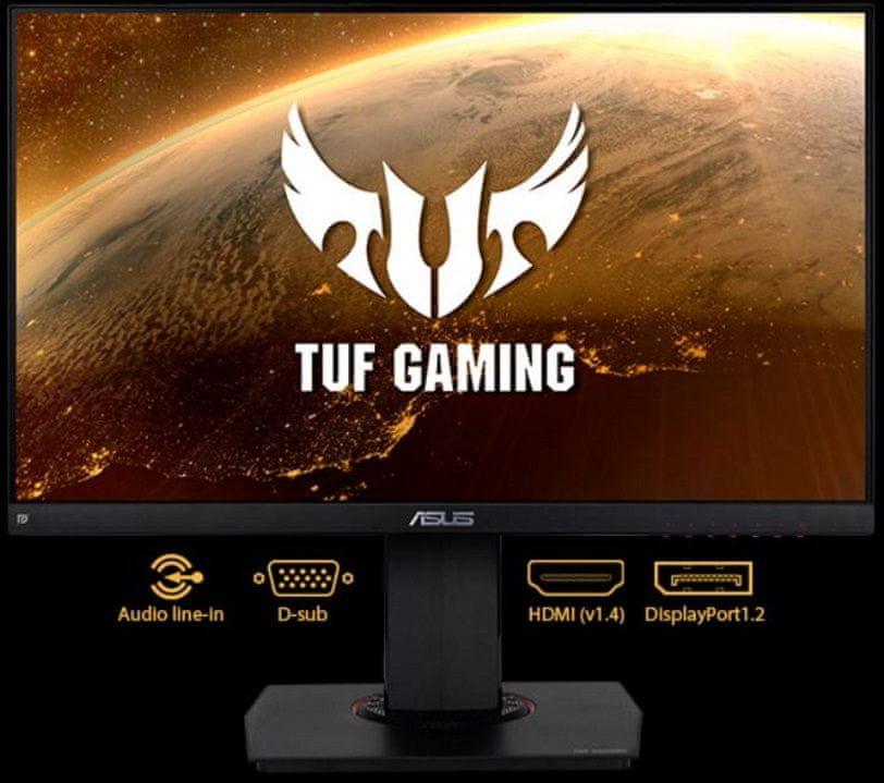 Gaming monitor Asus VG249Q (90LM05E0-B01170) HDMI DisplayPort 3,5mm jack