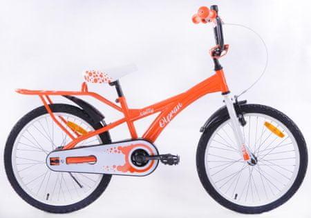 """Olpran rower Natty 20"""" pomarańczowy"""