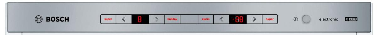 Přední panel chladničky Bosch