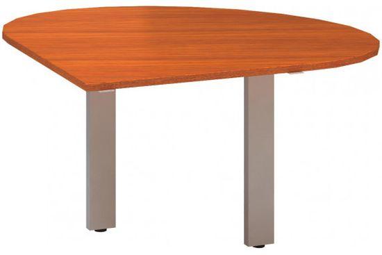 Interiér Říčany Stůl kancelářský - Přídavný - Alfa 300 - Třešeň, 1200x1200x742 levý