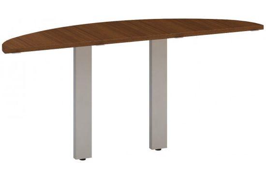 Interiér Říčany Stůl kancelářský - Přídavný - Alfa 300 - Ořech, 1625x450x742