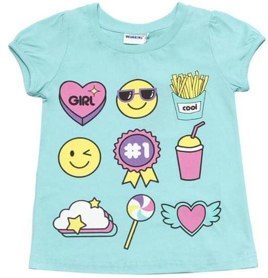 WINKIKI dievčenské tričko 128 sivá