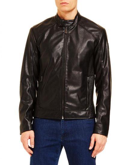 Trussardi Jeans pánska bunda 52S00414-1T002169 48 čierna