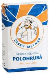 10x Český mlynár Múka pšeničná polohrubá 1 kg