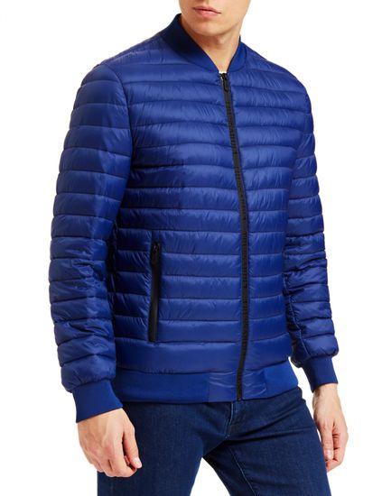 Trussardi Jeans pánska bunda 52S00437-1T001596 48 modrá