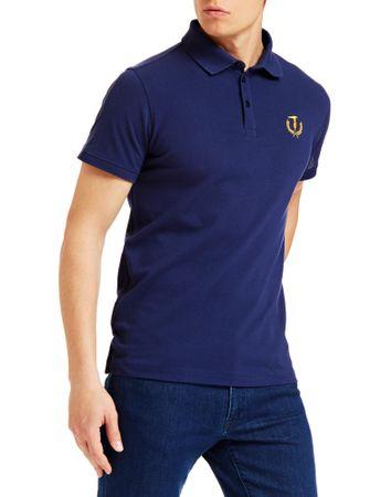 Trussardi Jeans férfi ingpóló 52T00348-1T003600, S, sötétkék
