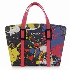 IOAMO Extravagantní italská kabelka IOAMO Piccasso