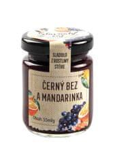 MADAMI Šťavnatý čaj černý bez s mandarinkou 55 ml