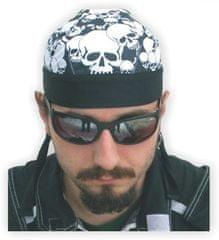 Bikersmode šátek 3 lebky