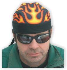 Bikersmode šátek 3 plameny