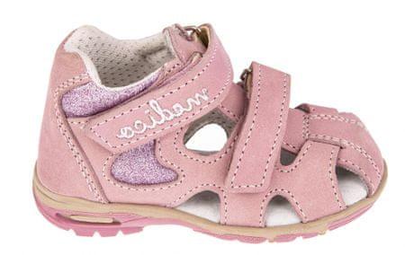 Medico dekliški usnjeni sandali EX4520/M82, 20, roza