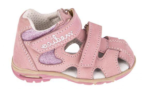 Medico dievčenské kožené sandále EX4520/M82 20 ružové
