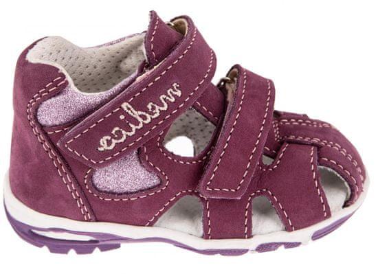 Medico dívčí kožené sandály EX4520/M74 23 růžová