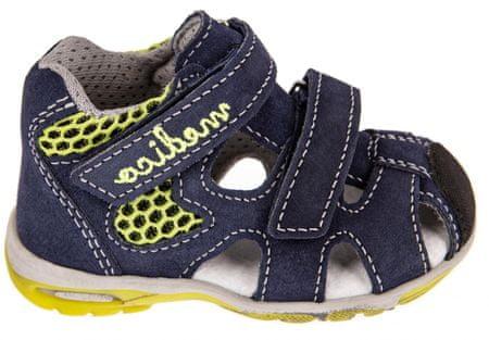 Medico kožne sandale za dječake EX4923/M80, 21, tamno plava