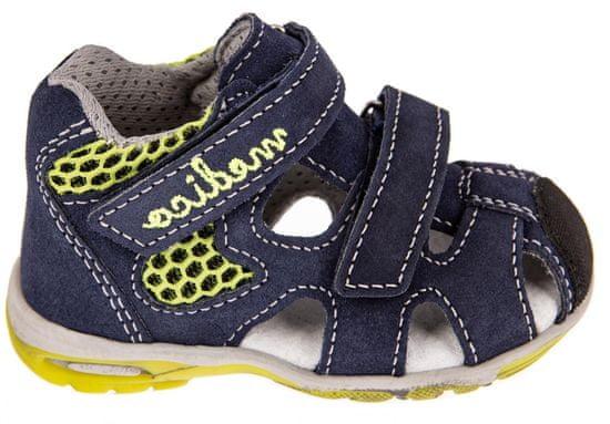 Medico chlapecké kožené sandály EX4923/M80 19 tmavě modrá
