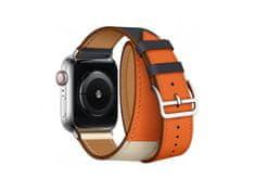 Coteetci kožený řemínek pro Apple Watch 42/44mm (dlouhý)