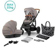 KinderKraft wózek PRIME 2w1 beżowy