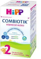 HiPP 2 BIO Combiotik Pokračovací mléčná kojenecká výživa 700 g