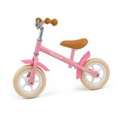 MILLY MALLY Detské odrážadlo bicykel Milly Mally Marshall Pink Ružová