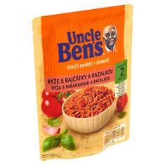 Uncle Ben's Stačí ohriať Ryža s paradajkami a bazalkou 6x 250 g