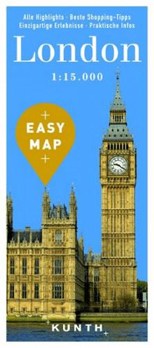 Londýn - Easy Map 1:15 000