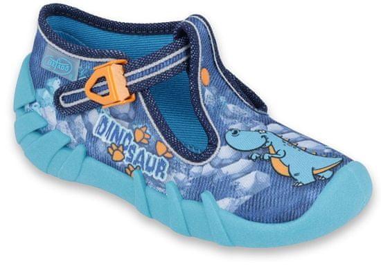 Befado chlapčenské papučky Speedy 110P353 20 modrá
