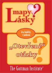 """The Gottman Institute: Mapy Lásky + """"Otevřené"""" otázky (dva balíčky karet v jednom)"""