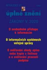 AKTUALIZACE 2020 V/1 Svobodný přístup k informacím - Informační systémy VS, Ověřování shody opisu, Ověřování pravosti opisu