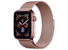 Coteetci ocelový magnetický řemínek pro Apple Watch 38 / 40mm