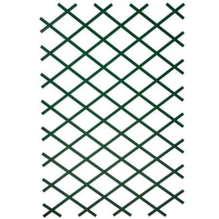 shumee Nature Oporna mreža za rastline 50x150 cm PVC zelene barve 6040702