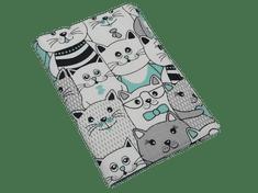Šišipu Obal na zdravotní průkaz dítěte Mentolové kočky