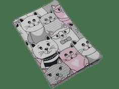 Šišipu Obal na zdravotní průkaz dítěte Růžové kočky v kině