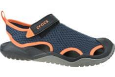 Crocs M Swiftwater Mesh Deck Sandal 205289-4V9 43/44 Granatowe