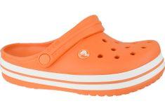 Crocs Crocband Clog K 204537-810 25/26 Pomarańczowe