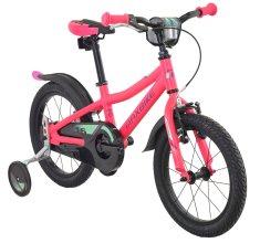 """Maxbike Dětské 16"""" kolo - matně růžová"""