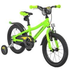 """Maxbike Dětské 16"""" kolo - matně zelená"""