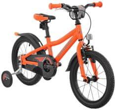 """Maxbike Dětské 16"""" kolo - neon oranžová matná"""