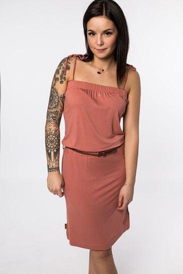 Alife and Kickin dámské šaty Kim XXL červená