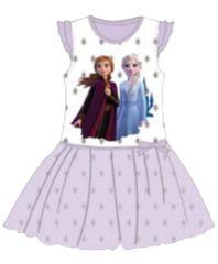 """SETINO Dětské šaty """"Ledové Království 2"""" - světle fialová"""