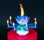 2 - GoDan Hrajúca tortová sviečka - modrá