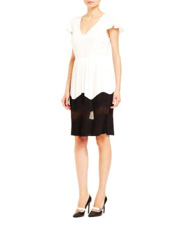 Trussardi Jeans 56D00334-1T003542 ženska obleka, 40, bela