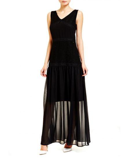 Trussardi Jeans dámske šaty 56D00331-1T003477 40 čierna