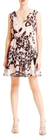 Trussardi Jeans ženska obleka 56D00351-1T003560, 40, bež
