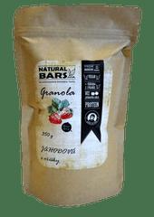 Natural Bars Proteinová granola - jahoda s ořechy