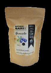 Natural Bars Proteinová granola - borůvky a semínka