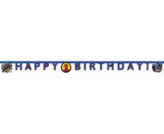 """GoDan Banner """"Spiderman Team Up"""" - boldog születésnapot 200 cm"""