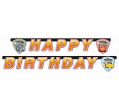 """GoDan Banner """"Cars 3"""" - boldog születésnapot 200cm"""