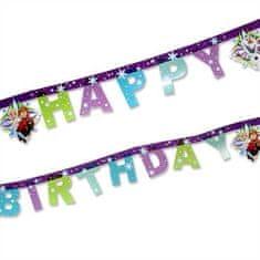 "GoDan Banner ""Frozen"" - všetko najlepšie k narodeninám 200cm"
